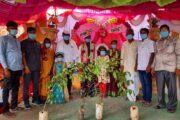 ಹೆಳವರ ಮದುವೆಯಲ್ಲಿ ಪರಿಸರ ಪ್ರೇಮದೊಂದಿಗೆ ಕರೋನ ಜಾಗೃತಿ