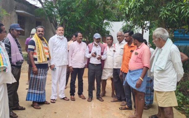 ಕುಡಿಯುವ ನೀರಿಗೆ ಮೊದಲ ಆದ್ಯತೆ- ಅಧ್ಯಕ್ಷ ಬಂಗವಾದಿ ರವಿಕುಮಾರ್