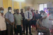ಶ್ರೀನಿವಾಸ್ ವಿಶ್ವವಿದ್ಯಾಲಯ: ಲಸಿಕೆ ಶಿಬಿರ