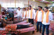 ಯಶಸ್ವಿ ರಕ್ತದಾನ ಶಿಬಿರ, ದಾಖಲೆಯ 1037 ಯೂನಿಟ್ ರಕ್ತ ಸಂಗ್ರಹಣೆ : ಹೂಡಿ ವಿಜಯ್ ಕುಮಾರ್.