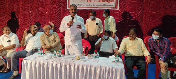 ಮೀನುಗಾರರ ಗ್ರಾಮಗಳ ಅಭಿವೃದ್ದಿಗೆ 7.5 ಕೋಟಿ ರೂ : ಕೇಂದ್ರ ಸಚಿವ ಡಾ .ಮುರುಗನ್